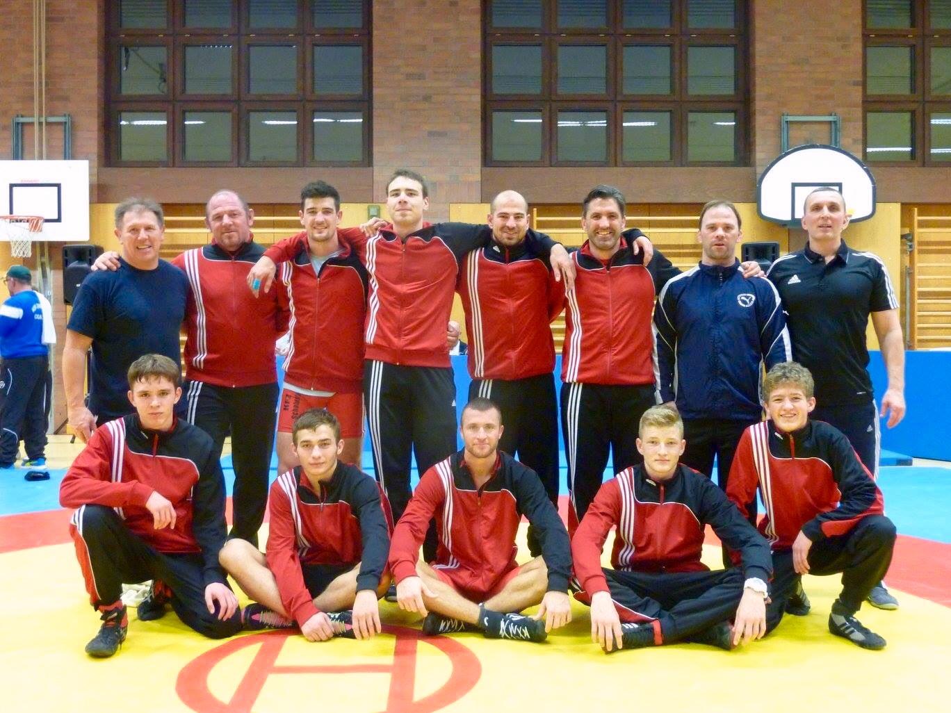 Mannschaft gegen Bamberg